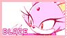 Pastel Pink Blaze Stamp by mrneedlem0use