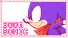 Pastel Pink Boom Sonic Stamp by mrneedlem0use