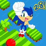 happy 28th, Sonic!! by mrneedlem0use