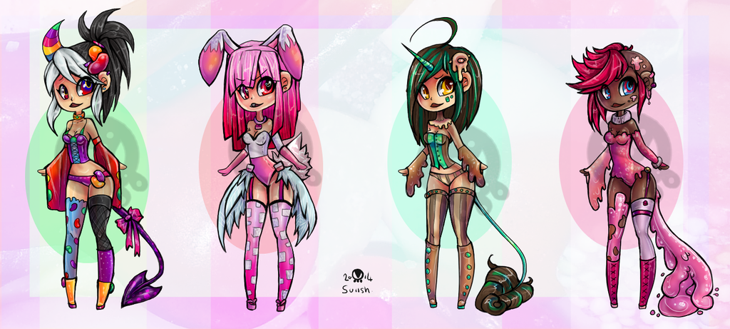 SuiAdopts Batch#5! Sweeties!  CLOSED by Suiish
