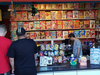 The Cereal Killer Cafe by Suiish