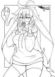 TCBY Commission Lines - Not for Colouring