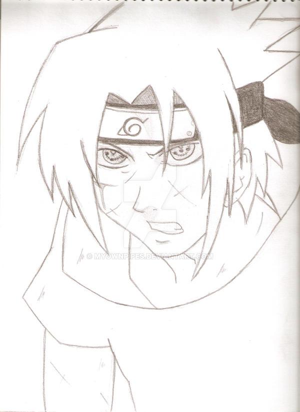 Sticker naruto risitas uchiwa sharingan dark sasuke itachi issou sombre destin oeil rouge.