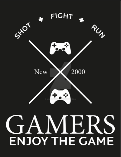 Gamers - Enjoy the game by Misterysoul