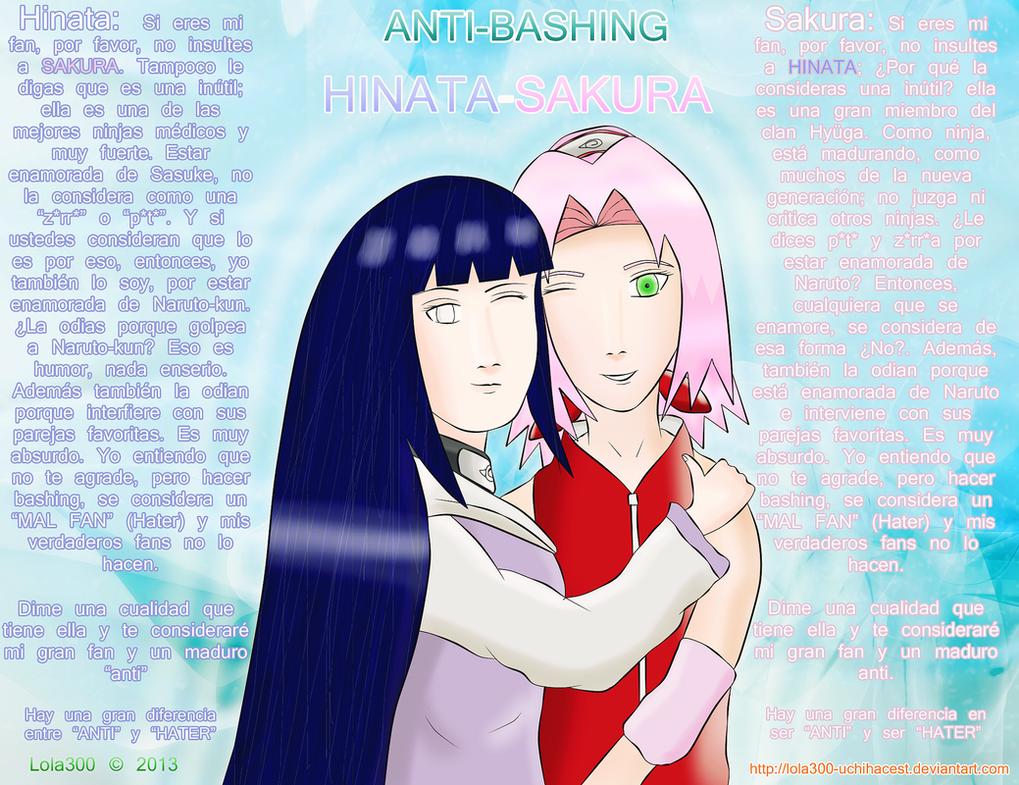 Anti-bashing Hinata-Sakura by Lola300-Uchihacest