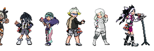 Gym Leaders Galar