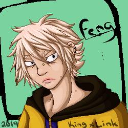 GIFT - Feng Pixel Portrait by kingxlink