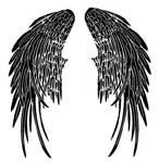Dmitri's Angel Wing Tattoo