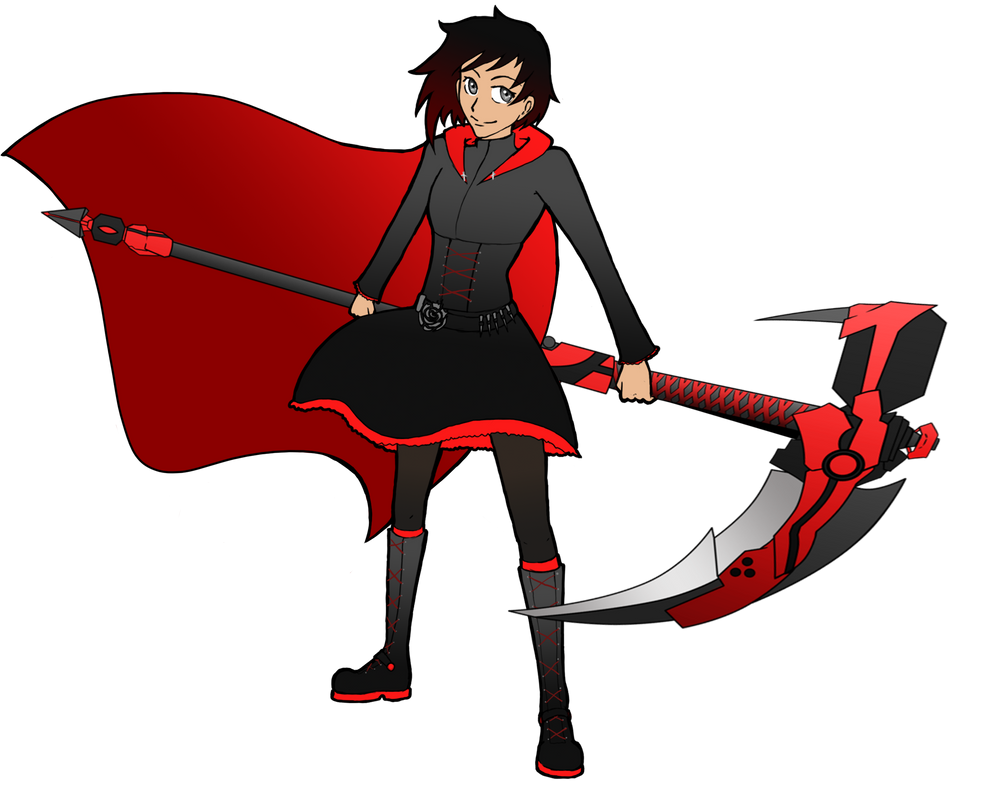 Ruby Rose by notanotherzombie