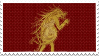 Pukwudgie Stamp - Ilvermorny by fieldsofdaisies
