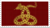 Horned Serpent Stamp - Ilvermorny