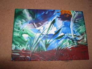 Wax Art Landscape