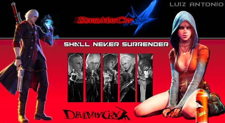 Devil may cry wallpaper by FARRUKO25