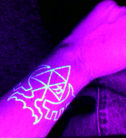 Triforce Tattoo by DarkAngelNeo