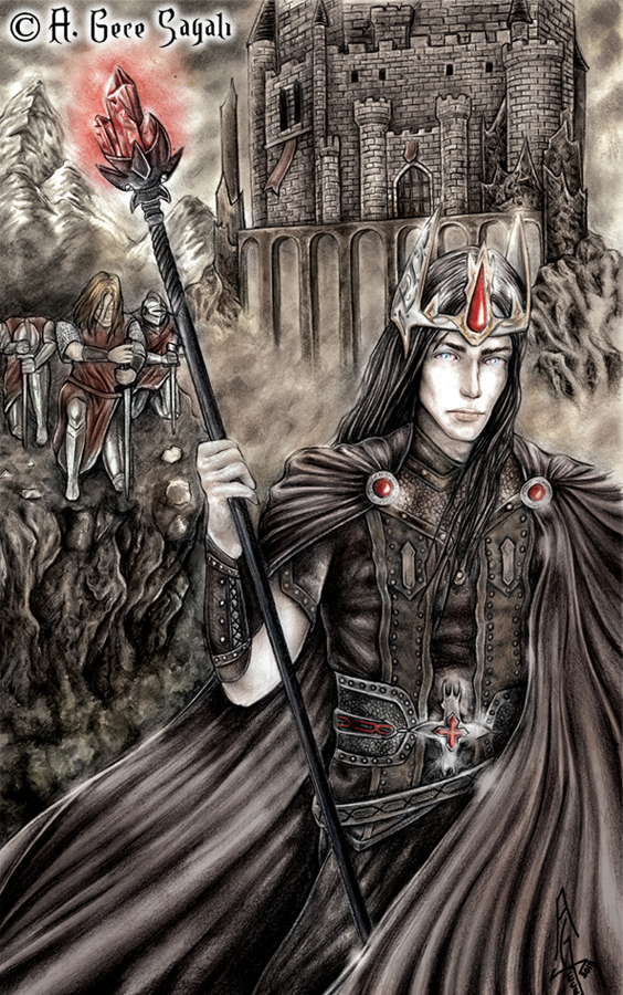 Pray for the Witch King by A-Gece-Sayali