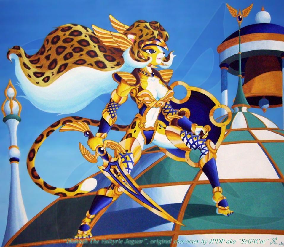 Hannah Valkyrie Jaguar by scificat