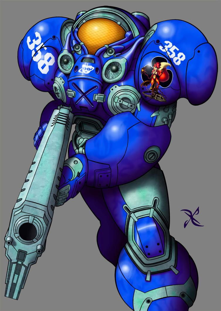 Terran Space Marine by scificat