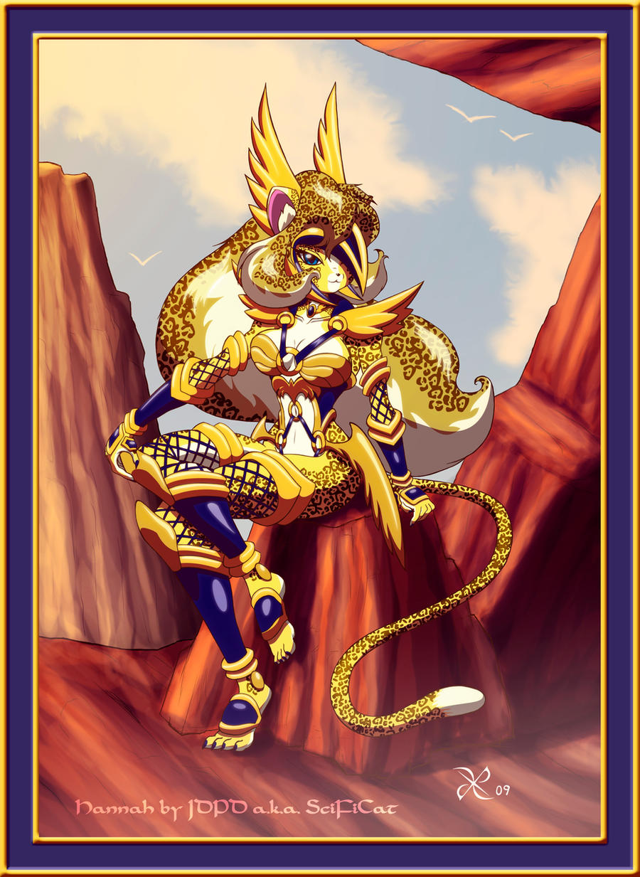 Cliff Side Hannah by scificat