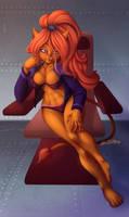COMMISSION - Star Trek Caitian [Speed Paint]