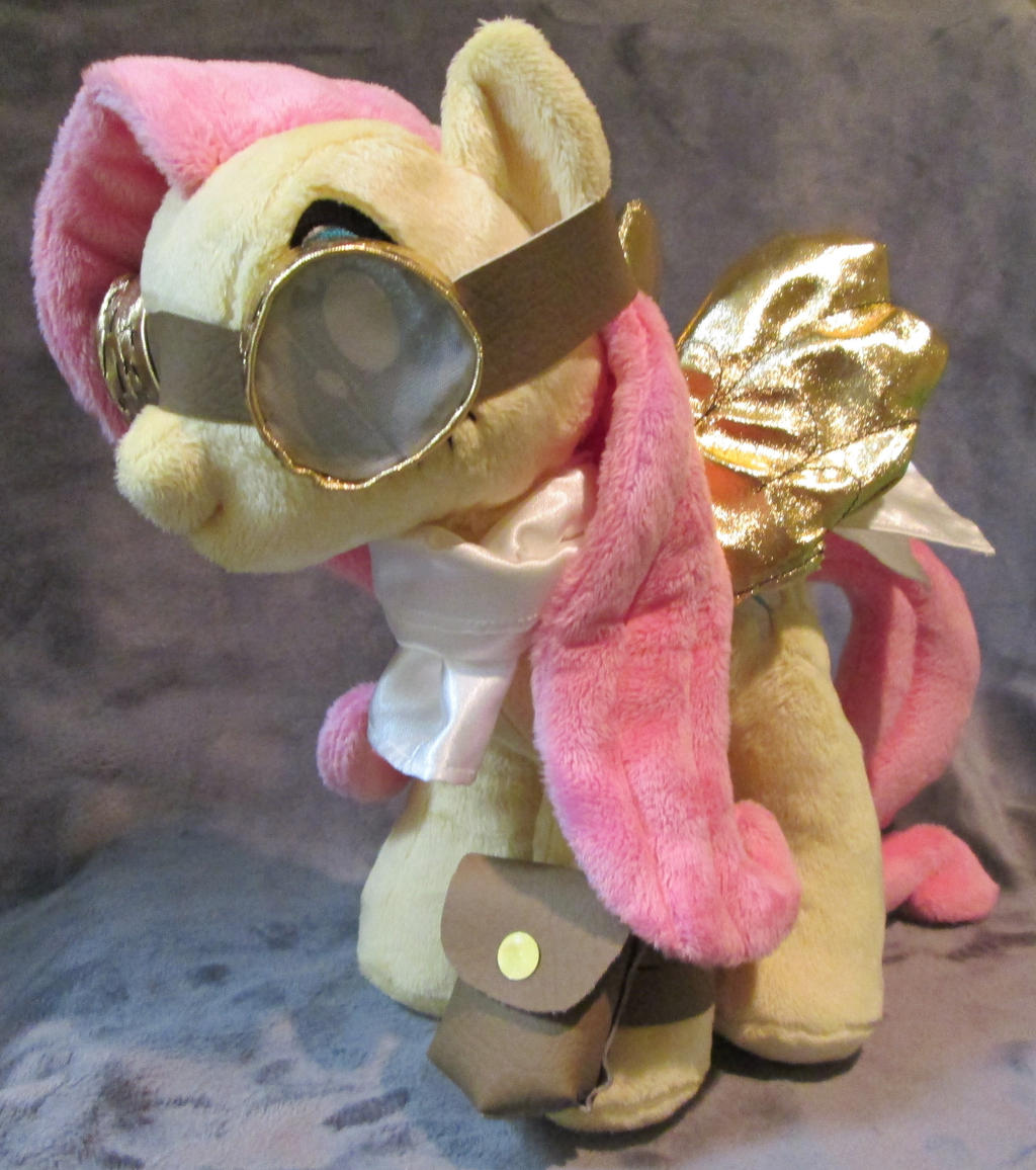 Fluttershy #4, a.k.a. SteampunkShy by ManlyStitches