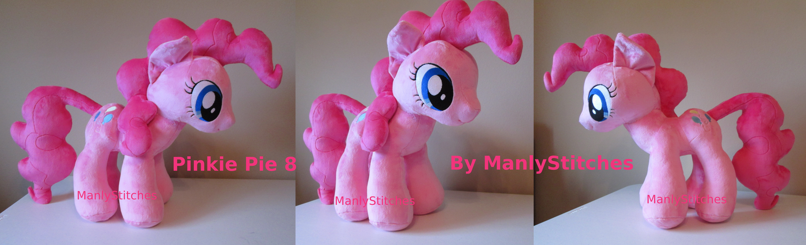 Pinkie Pie #8 (20 inch) by ManlyStitches
