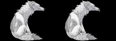Coyote Sit Mod Tongue and No Tongue - Free by Jokerhound