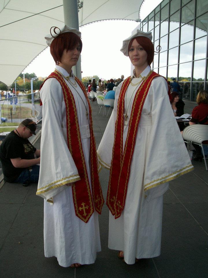Italy Brothers Priests by Ryume-Kazemizu