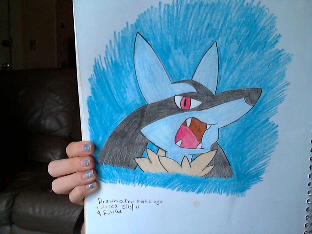 Lucario Drawing By Neenagirl2220 On DeviantArt