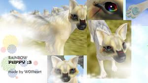 feral heart preset:RAINBOW PUPPEHH!! O3O