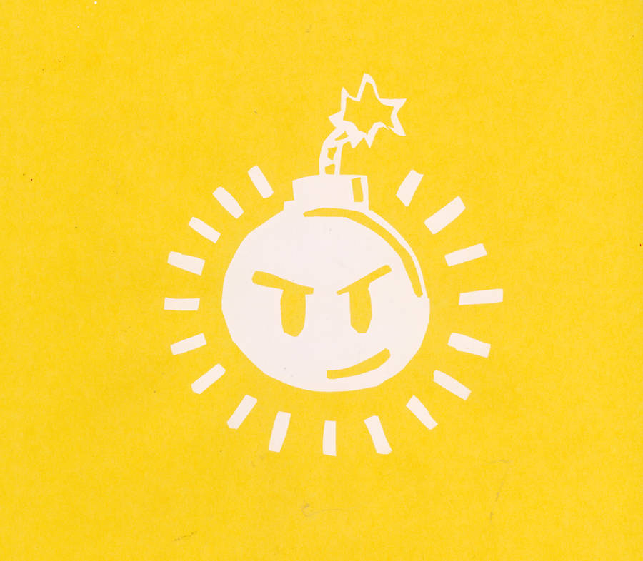 Sex Bob-omb logo yellow by WillehTehHatKidDaveh
