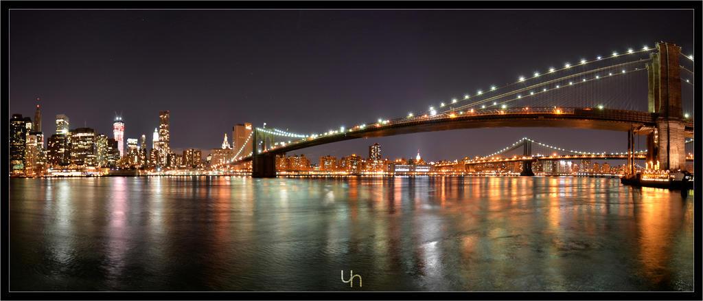 Brooklyn Bridge - Panorama by hmdll