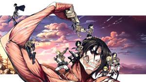 Attack on Titan (Shingeki no Kyojin) - Wallpaper