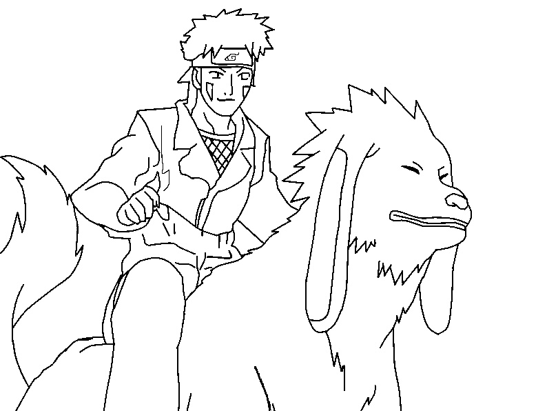 kiba coloring pages - photo#10
