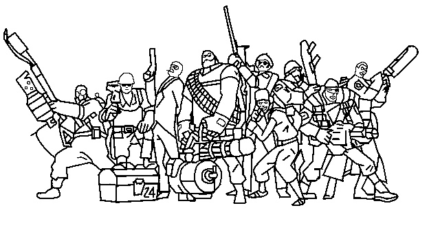 team fortress 2 coloring pages team fortress 2 coloring pages coloring pages