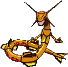 Gold Rayquaza XY -Custom- Ceri19 Request by GaaraxHinata6666