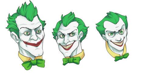 Joker Doodling by XoverLover