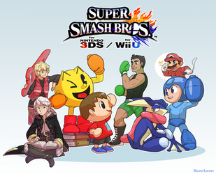 Smash Newcomers, Assemble! by XoverLover
