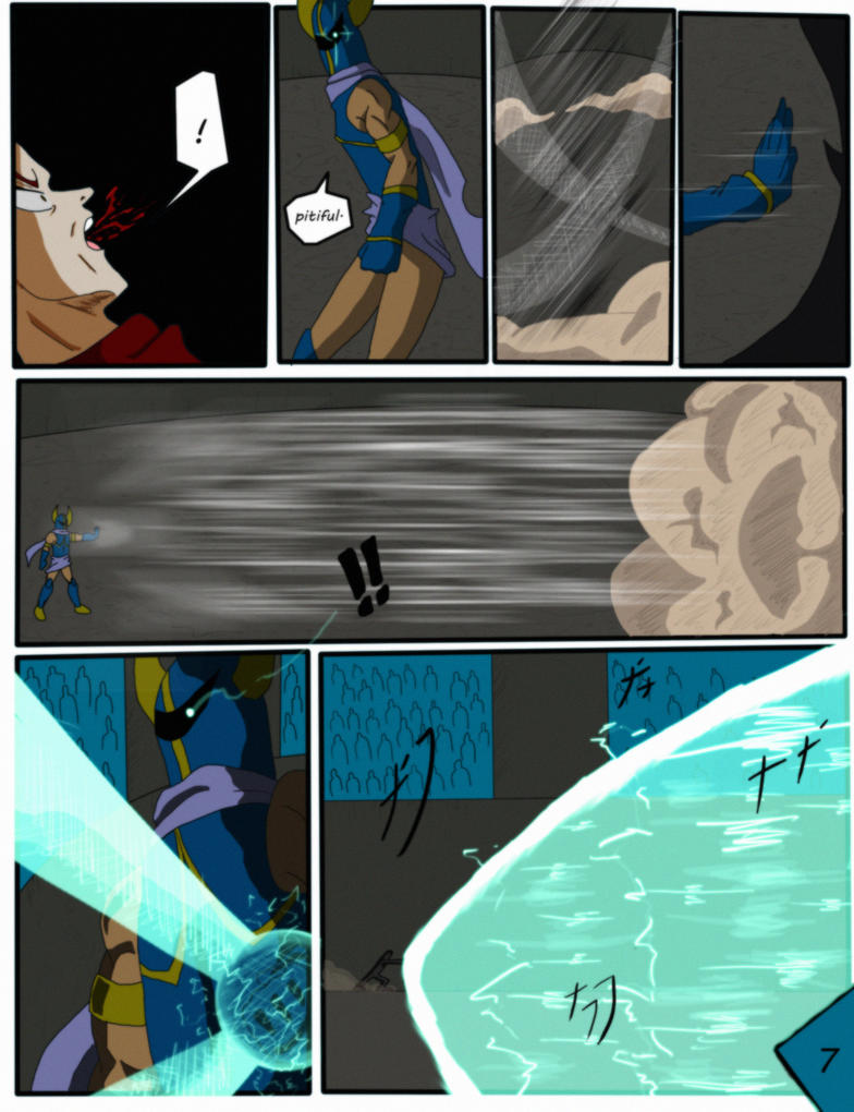 CHRONICLES OMEGA EX ISSUE 20 PAGE 7 by FuzzyBridges89