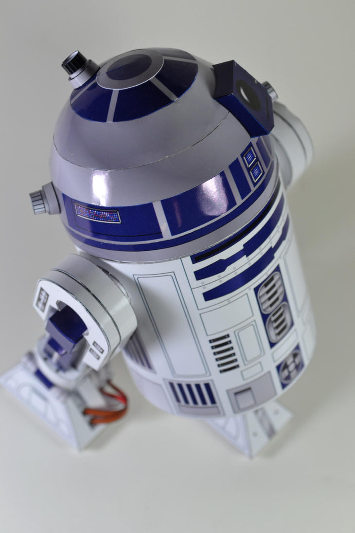 Shunichi Machino's R2D2 by airasumi