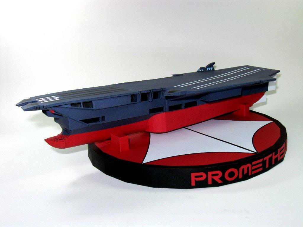 Prometheus (Robotech) Papercraft by airasumi
