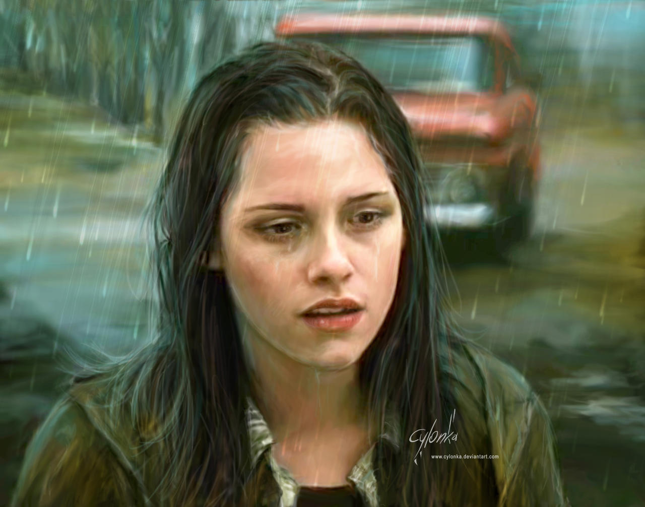 Rain by cylonka