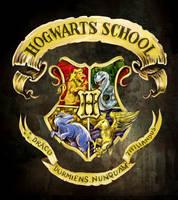Hogwarts crest by cylonka
