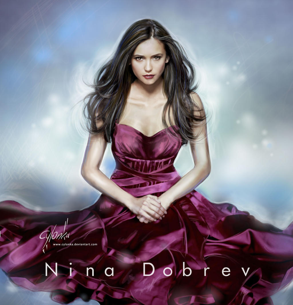 Nina Dobrev Wallpaper: Nina Dobrev By Cylonka On DeviantArt