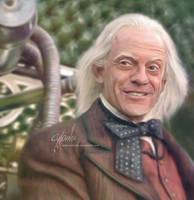 Dr Emmet Brown by cylonka
