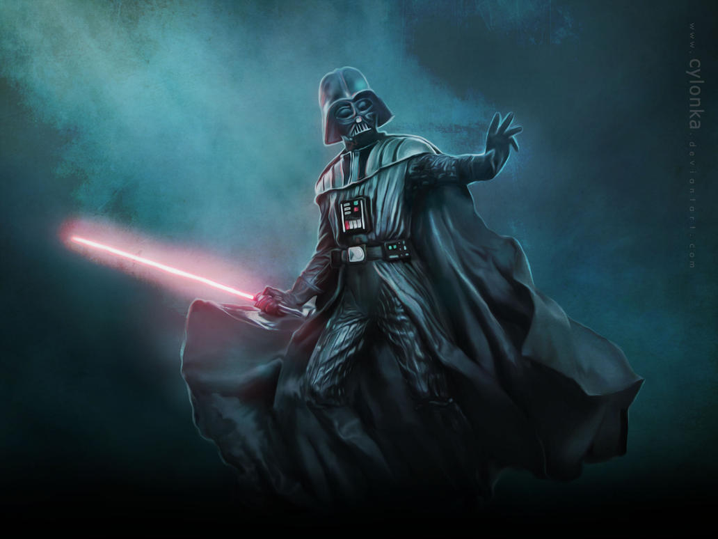 ... the power of the Dark Side ... by cylonka