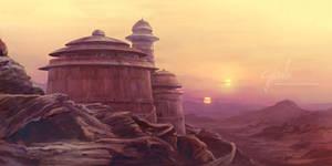 Jabba's Palace - Tatooine by cylonka