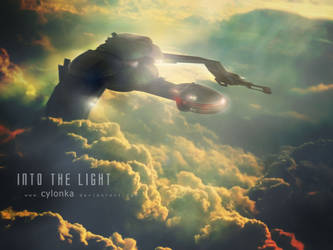 Into the light. by cylonka