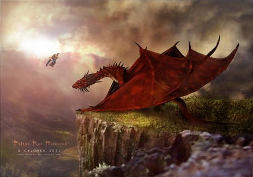 Polish Red Hornhead Dragon