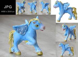 Custom pony - Stock image JPG