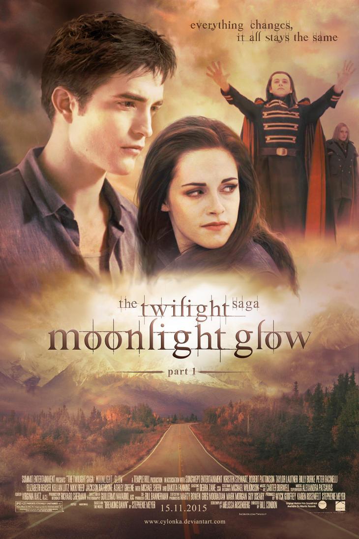 Twilight - Moonlight Glow poster by cylonka